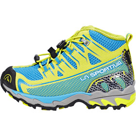 La Sportiva Falkon GTX Shoes Kinder blue/sulphur